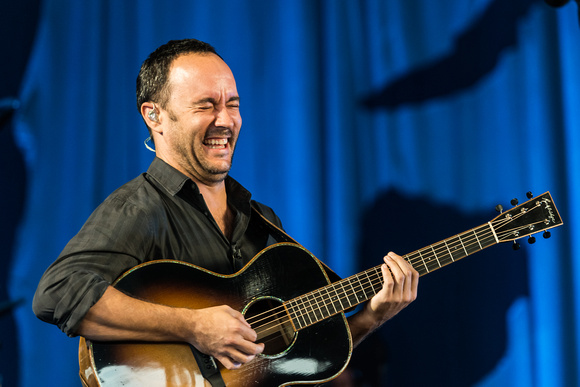 Dave Matthews at  Riverbend Music Center, Cincinnati, OH.