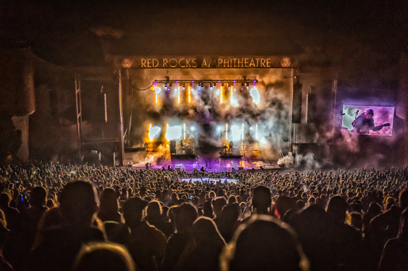 Papadosio - Red Rocks Amphitheater - Morrison, Colorado - ©Phierce Photo by Keith G - May 7, 2016