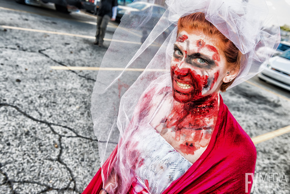 Zombie Walk - Indymojo Event for Gleaners Food Bank – Indianapolis, Indiana - ©Phierce Photography by Keith Griner - All Rights Reserved -2013